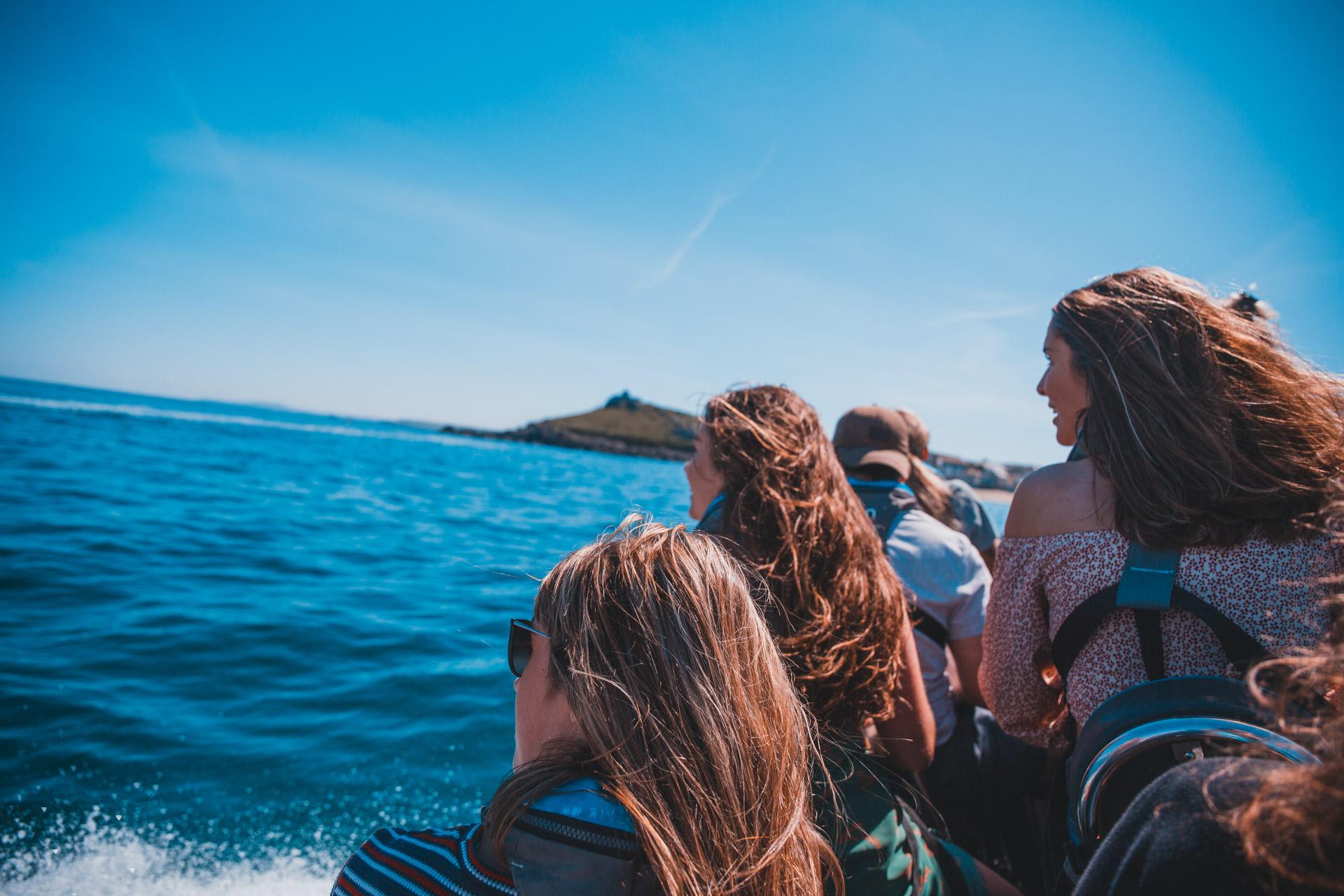 Blue Thunder Rib Rides Boat trips around the island st ives
